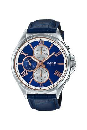 Mens Blue Dial Chronograph Watch - A1410