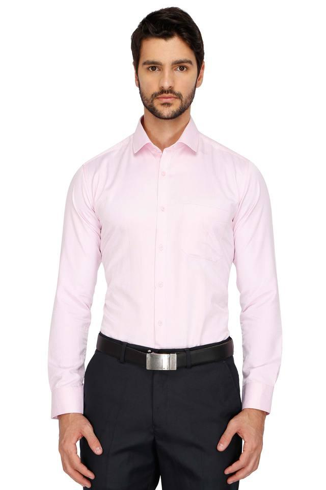 Mens Formal Solid Shirt