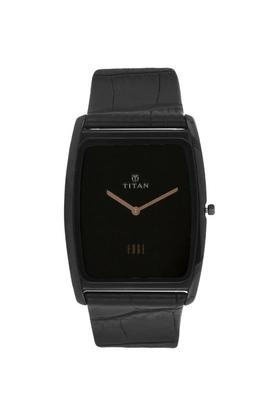 Mens Analogue Leather Watch - NK1596NL01