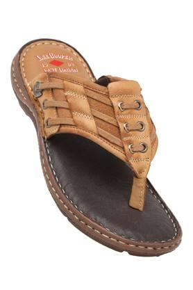 LEE COOPER Mens Leather Casual Wear Slippers - 203912135_9124