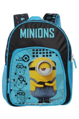 Kids Minion Zip Closure School Bag