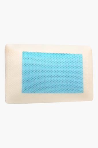 Rectangular Colour Block Foam - Gel Pillow