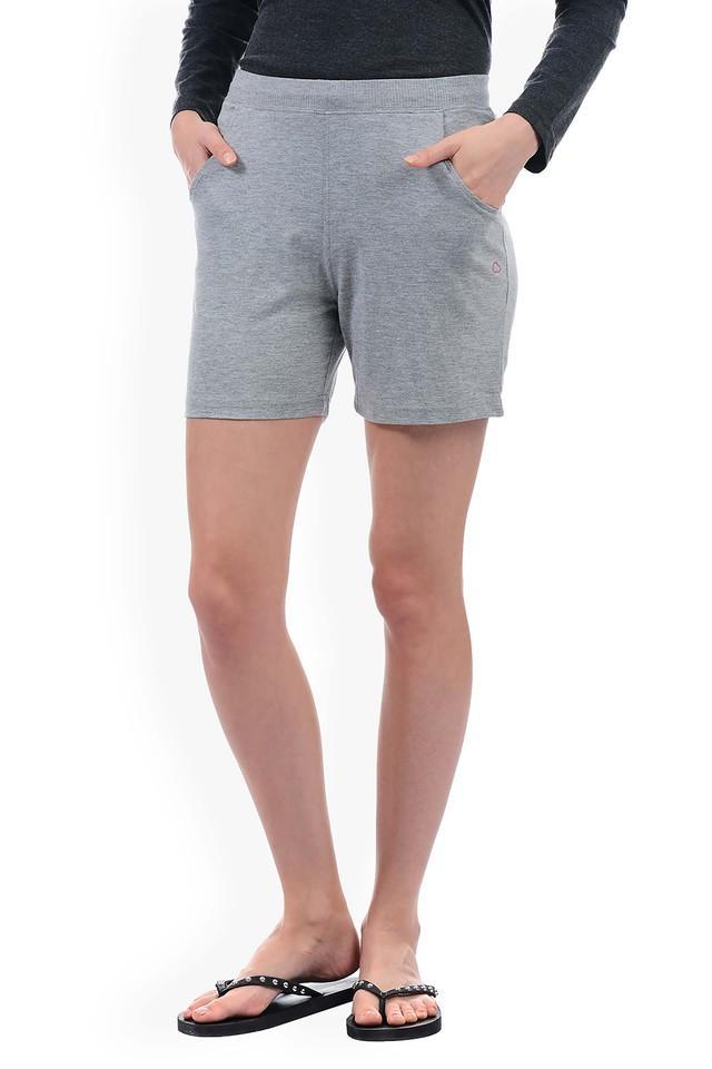 Womens 2 Pocket Slub Shorts