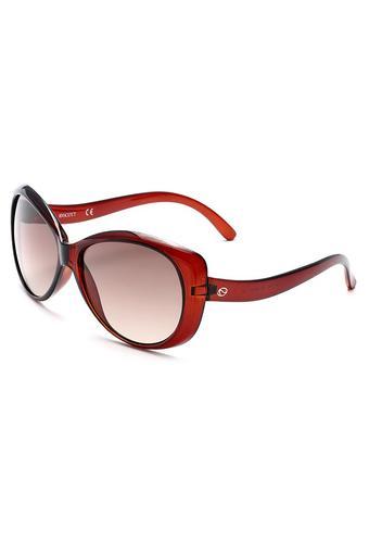 Womens Cat Eye Polycarbonate Sunglasses