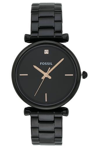 Womens Black Dial Metallic Analogue Watch - ES4511I