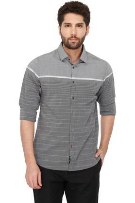 697304ee5744 X BEING HUMAN Mens Striped ...