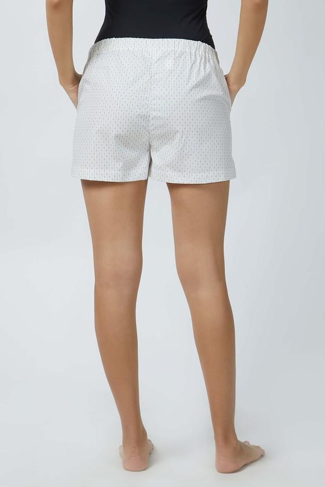 Womens Dot Pattern Shorts