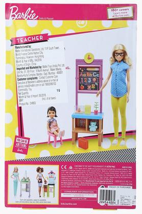 Girls Teacher Doll Set