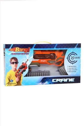 Unisex Crane Bang Striker Gun with 20 Bullets