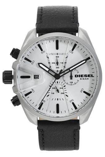 Mens White Dial Chronograph Watch - DZ4505I