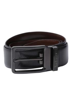 VAN HEUSENMens Leather Buckle Closure Formal Belt - 203721593_9212