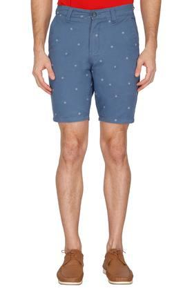 Mens 4 Pocket Printed Shorts