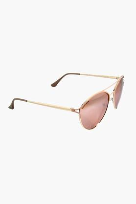 FASTRACK Womens Aviator UV Protected Lens Sunglasses - M185YL1F