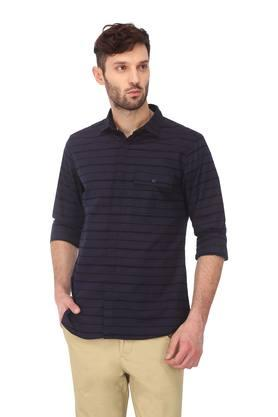 Mens Striped Casual Shirt