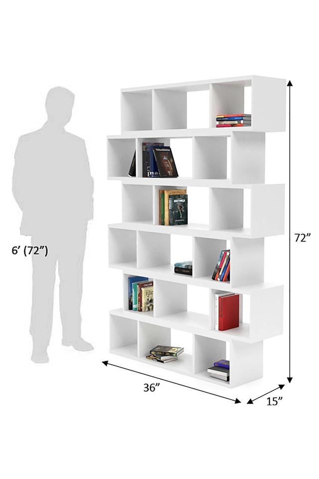 White Ghio Book Shelf