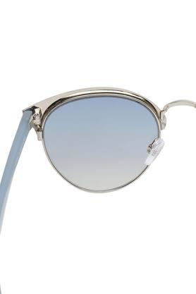 Womens Gradient and UV protected Lens Browline Sunglasses - IDS2496C4SG