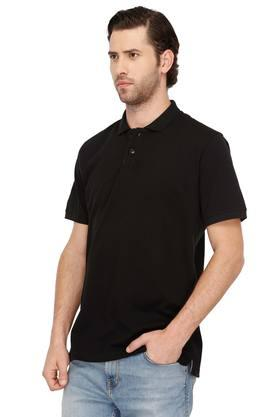 STOP - Black T-Shirts & Polos - 2