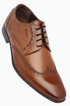 VENTURINI Mens Leather Lace Up Derbys - 203018045
