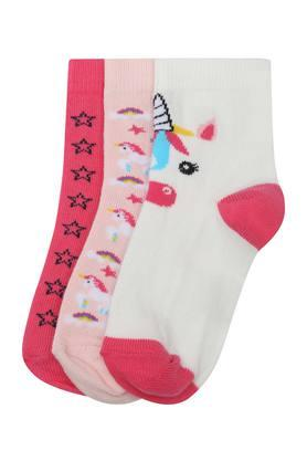 LIFEMens Printed Socks - Pack Of 3