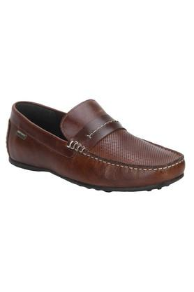 RED TAPE Mens Leather Slipon Loafers - 203947388_9124