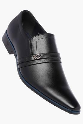 VENTURINI Mens Leather Slipon Loafers - 203018038