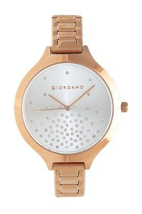 Womens Silver Dial Analogue Watch - GD-2024-33