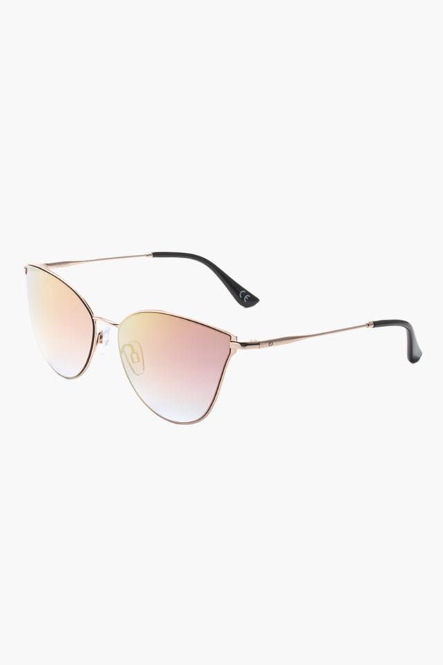 Womens Cat Eye Polycarbonate Sunglasses - 2197 C1 S
