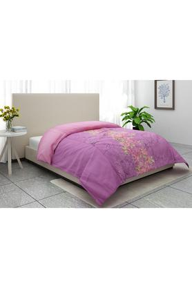 Vienna Floral Print Double Comforter