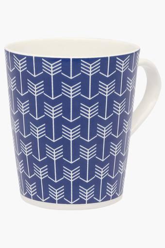 Round Geometric Printed Rio Cupid Mug