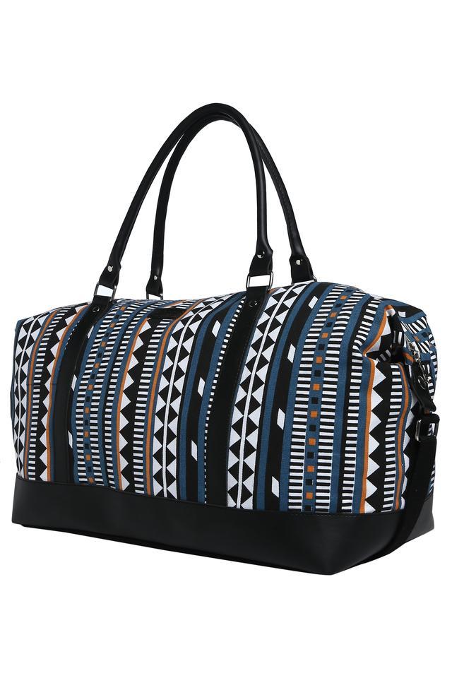 Womens Zip Closure Duffle Bag