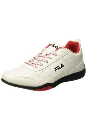FILA Mens Synthetic Leather Lace Up Sports Shoes