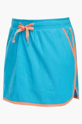 Girls Solid Skirt