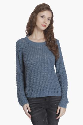 ONLY Womens Knitted Pattern Pullover - 202995140