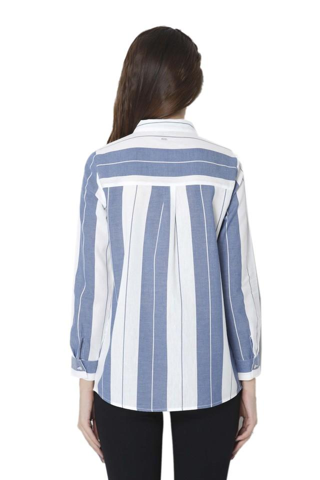 Womens Striped Casual Shirt