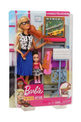 Unisex Music Teacher Barbie Doll Play Set