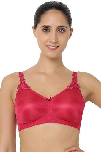 Womens Padded Non Wired Minimiser Bra