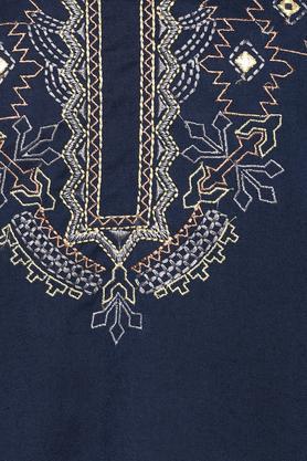 Womens Mandarin Collar Embroidered Sharara Suit