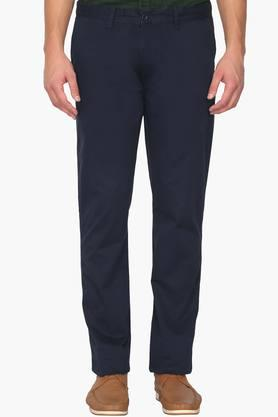 IZOD Mens Slim Fit 5 Pocket Solid Chinos - 202954373_9324