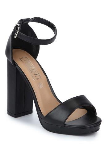 TRUFFLE COLLECTION -  Black Heels - Main