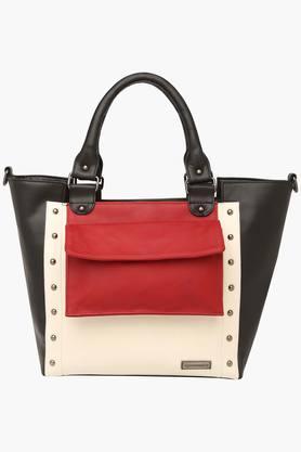 ELLIZA DONATEINWomens Zipper Closure Satchel Handbag - 203372154