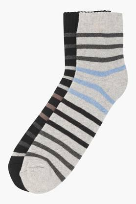 STOP Mens Stripe Socks Pack Of 2