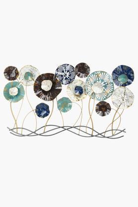 Flower Heads Metal Wall Art