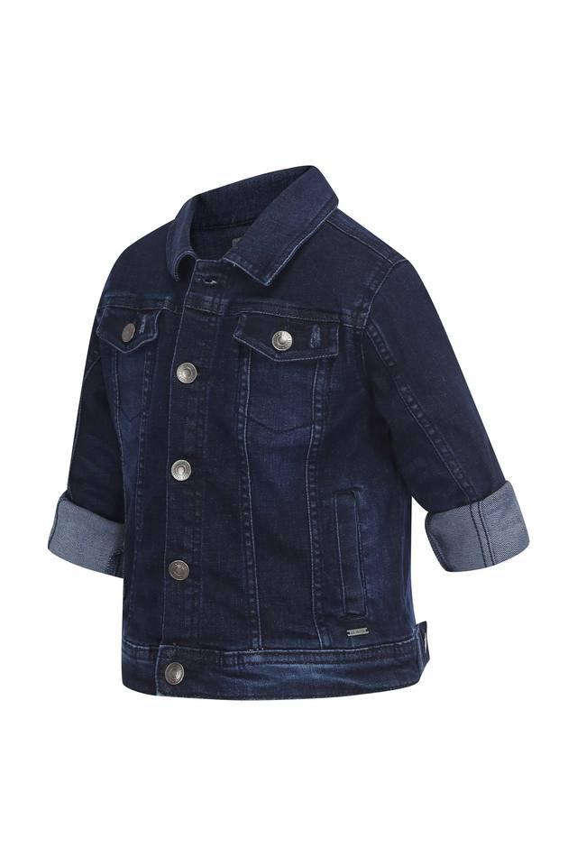 Boys Collared Assorted Jacket