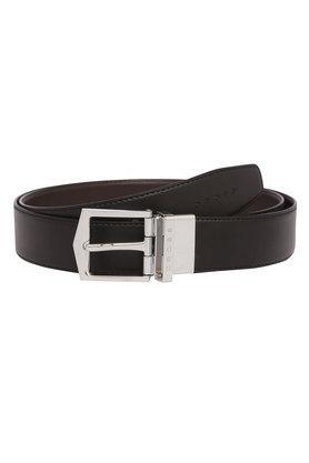 Mens 1 Fold Wallet and Belt Set