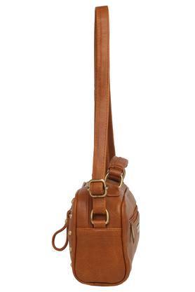 Womens Zipper Closure Sling Bag