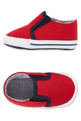 Boys Slipon Closure Solid Booties
