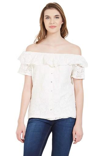 89623f20edb92 Buy KRAUS Womens Off Shoulder Lace Top