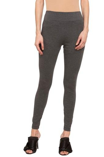 Womens Solid Treggings