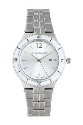 Womens Analogue Silver Dial Metallic Watch - 2973-22