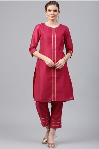 JUNIPER -  MagentaSalwar & Churidar Suits - Main